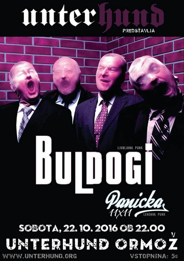 Buldogi, Panicka
