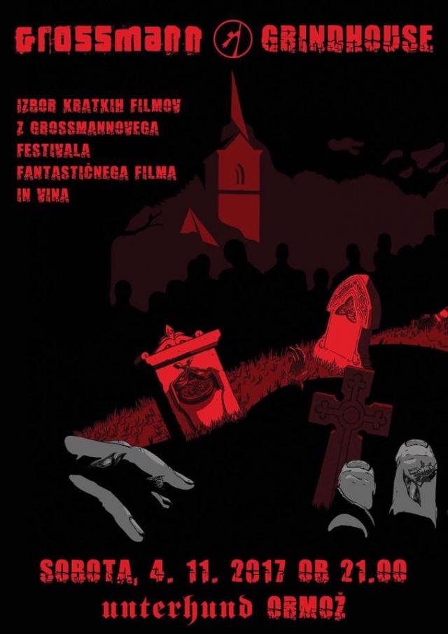 Grossmann Grindhouse – projekcija kratkih filmov