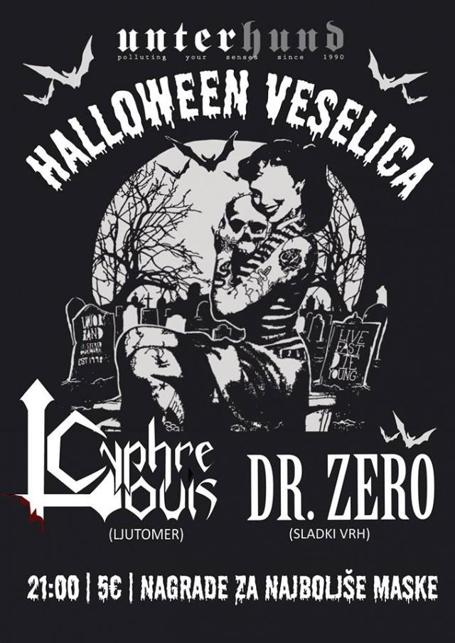 Halloween veselica: Cyphre Louis, Dr. Zero