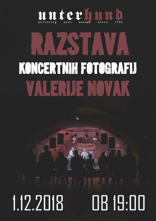 Razstava koncertnih fotografij Valerije Novak