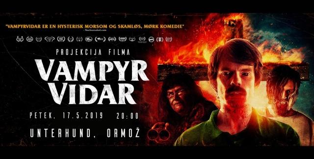 Projekcija filma Vampir Vidar