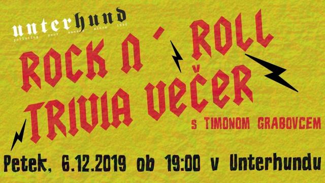 Rock'n'roll trivia večer